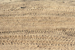 Dust and ruts Royalty Free Stock Images