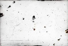 Dust and scratches on photographic paper Royalty Free Stock Photography