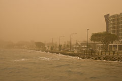 Dust Storm Stock Photography