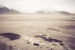 Dust Storm on the Chilkat Royalty Free Stock Photo