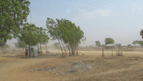 Dust storm in South Sudan