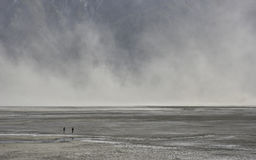 Dust storm Royalty Free Stock Photo