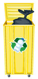 Dustbin Royalty Free Stock Image