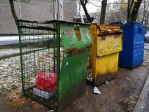 dustbin Obrazy Stock