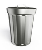 Dustbin illustration Stock Photos