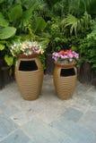 The dustbin, in Shenzhen Folk Culture Village Royalty Free Stock Image