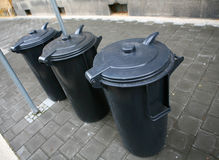 Dustbins Royalty Free Stock Image
