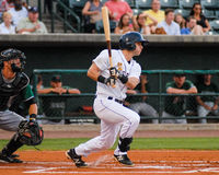 Dustin Fowler, Charleston RiverDogs Royalty Free Stock Photos