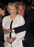 Dustin Hoffman, Maggie史密斯贵妇人 免版税库存图片