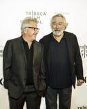 Dustin Hoffman Arrives på den Tribeca filmfestivalen 2017 Arkivbild