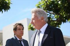 Dustin Hoffman, Ben Stiller Royalty-vrije Stock Foto