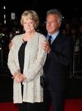 Dustin Hoffman, dama Maggie Smith Fotografía de archivo