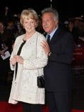 Dustin Hoffman, dama Maggie Smith Imagem de Stock Royalty Free
