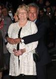 Dustin Hoffman, dama Maggie Smith Foto de Stock