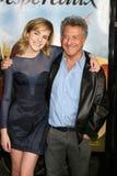 Dustin Hoffman, Emma Watson Zdjęcia Stock