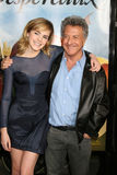 Dustin Hoffman, Emma Watson Fotos de archivo