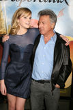 Dustin Hoffman, Emma Watson Lizenzfreies Stockbild