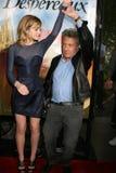 Dustin Hoffman, Emma Watson Stockbild
