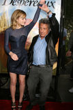 Dustin Hoffman, Emma Watson Obraz Stock