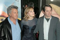Dustin Hoffman, Emma Watson, Matthew Broderick Lizenzfreies Stockbild