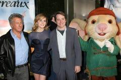 Dustin Hoffman, Emma Watson, Matthew Broderick arkivbild