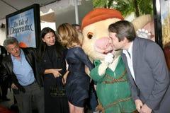 Dustin Hoffman, Emma Watson, Tracey Ullman, Matthew Broderick arkivfoton