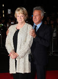Dustin Hoffman, Freifrau Maggie Smith Stockfotografie