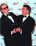 Dustin Hoffman, Jack Nicholson Fotografía de archivo