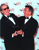 Dustin Hoffman,Jack Nicholson Stock Photography