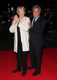 Dustin Hoffman, Paniusia Maggie Smith Zdjęcia Royalty Free
