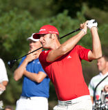 Dustin Johnson at the 2011 US Open Stock Image