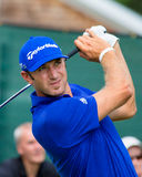 Dustin Johnson at the 2012 Barclays Royalty Free Stock Photo