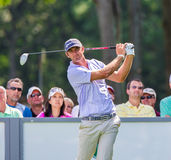 Dustin Johnson at the 2012 Barclays Royalty Free Stock Images
