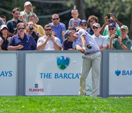 Dustin Johnson at the 2012 Barclays Royalty Free Stock Photography