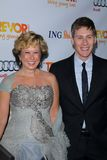 Dustin Lance Black, Yeardley Smith Royalty Free Stock Photo