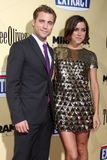 Dustin Milligan,Jessica Stroup Stock Photography