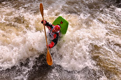 Dustin Urban 2010 Teva Games Mens Freestyle Kayak Royalty Free Stock Image