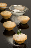 Dusting Mince Pies Stock Photos