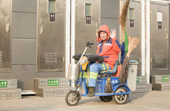 A dustman Stock Photography