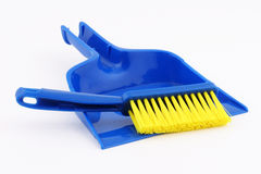 dustpan σκουπών παιχνίδι Στοκ Εικόνες