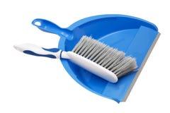 Dustpan and brush Royalty Free Stock Image