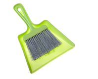 Dustpan and brush Stock Image