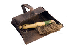Dustpan and Brush Stock Photos