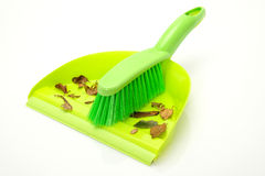 Dustpan and brush Stock Images