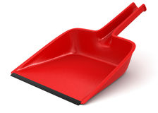 Dustpan (clipping path included) Royalty Free Stock Photography