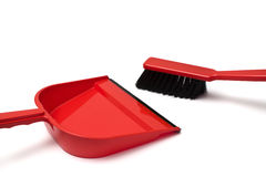 Dustpan and duster Stock Image