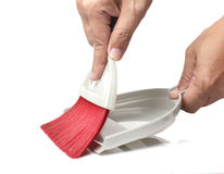 Dustpan and little broom Stock Images