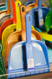 Dustpan in the supermarket Royalty Free Stock Photo
