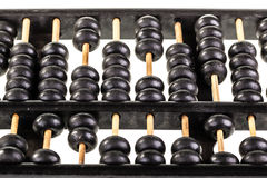 Dusty abacus Royalty Free Stock Photography