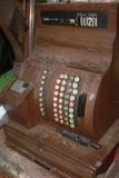 Dusty Antique Cash Register Imágenes de archivo libres de regalías